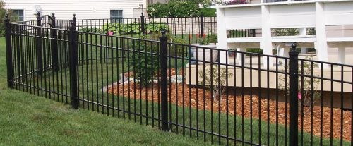 CS Ornamental Steel Fencing